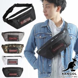 ウエストバッグ ボディバッグ カンゴール KANGOL レディース メンズ ブランド おしゃれ ウエストポーチ KGSA-BG00038
