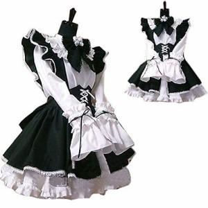6aa5d9774293c 新品  ベストPRICE コスプレ衣装 メイド服 3点セット (メンズ L)