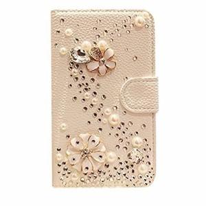 072c575dbf iphone6 plus専用ケース 手帳型 レザー キラキラデコ スマホ カバー アイフォン6 5.5インチライン