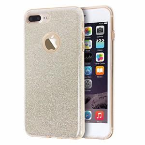 9fc09bf239 Imikoko iPhone 7 Plus ケース カバー case cover バンパー スマホケース キラキラ ラメ ソフトケース 携帯カバー
