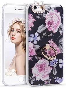 8ef9d2a556 iPhone 6s ケースImikoko iPhone6ケース リング付き 耐衝撃 おしゃれ かわいい きらきら tpu 保護カバー