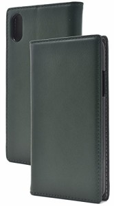 456ec48827 PLATA iPhone X/Xs ケース 手帳型 ラム シープスキン 羊革 本革 レザー