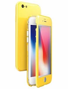 4b7f6ca4d9 アイフォン6sプラス ケース uovon マグネット式 薄型 iPhone 6 Plus ハードケース 強化ガラス背