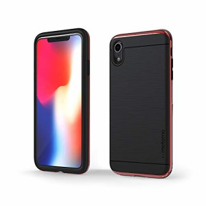 fe9ca9db8b INFINITY CASE iPhone スマホケース (iPhone XR Red/Black)【motomo 正規品】