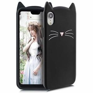b15353f83c iPhone Xr ケース シリコン 猫 かわいい ディズニー キャラクター ストラップホール 耐衝撃 傷防止 レンズ保護