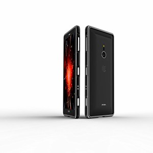 7350ec022f Sony Xperia XZ3 ケース バンパー アルミ DINGXIN 耐衝撃 メタル 枠 docomo SO-01L au