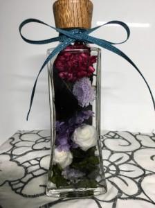【送料無料】花ギフト  フラワーインテリア  ハーバリウム   母の日  お誕生日祝い   女性向け  薔薇ギフト