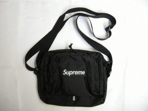 2019SS/Supreme/シュプリーム/shoulder bag/ショルダーバッグ/ポーチ/BAG/サコッシュ/19SS/春夏/ブラック/黒/メンズ/レディース