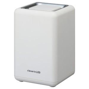 即日出荷 ドウシシャ クレベリンLED搭載 除菌・消臭器スクエア ホワイト CLGU-062 WH 空気清浄機