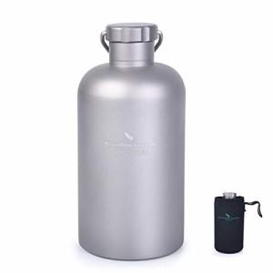 純チタン水筒登山キャンプ用ボトル Boundless Voyage 超軽量