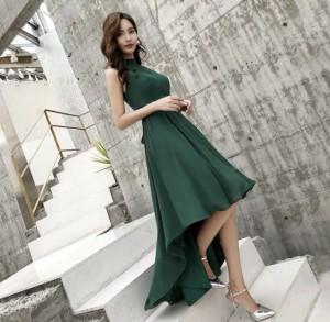 a9e994a1f8807 ドレス ワンピースドレス ドレス ワンピース 緑 韓国 ワンピース ドレス 激安 結婚式 ドレス お呼ばれ ワンピース 30