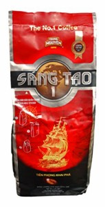 TRUNG NGUYEN COFFEE SANG TAO1(チュングエンベトナムコーヒー Sang Tao1×340g )