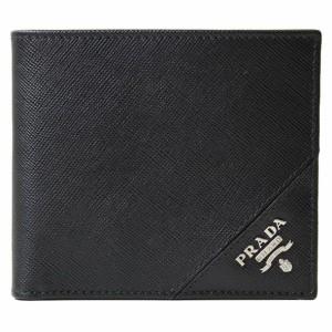 6df397b538d8 プラダ PRADA 二つ折り財布 2つ折り財布 メンズ 2MO738 SAFFIANO METAL NERO//2MO738