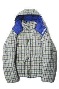 THE NORTH FACE PURPLE LABEL Harris Tweed Mountain Short Down Parka ハリスツイード
