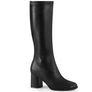 ファッション レディース ブーツ Blk Str. Faux Leather Funtasma GOGO-300-2 gogo300-2-bpu お取り寄せ商品
