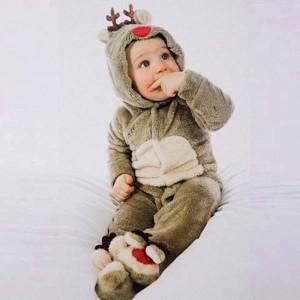 ロンパース オールインワン クリスマス 出産祝い ベビー服 防寒着 赤ちゃん 着ぐるみ キッズ 子供用 コスプレ衣装 ハロウィン かわいい