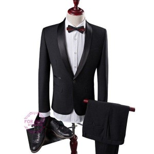 2ピーススーツ ビジネススーツ 1ボタン メンズスーツ カジュアルスーツ 結婚式 通勤 スーツセットアップ 卒業式 二次会 就職 秋物 秋冬