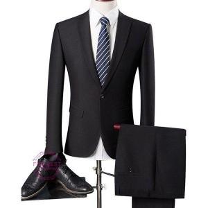 カジュアルスーツ スーツセットアップ スーツ メンズ ビジネススーツ 2ピーススーツ 結婚式 フォマール 就職 二次会 就職 卒業式 入学式