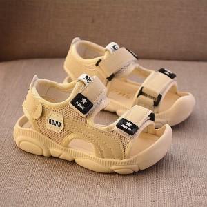 サンダル 子供靴 キッズ 男の子 ベビー ジュニア スポーツサンダル マジックテープ 履きやすい 夏向き 通気設計 ストラップ付き シューズ
