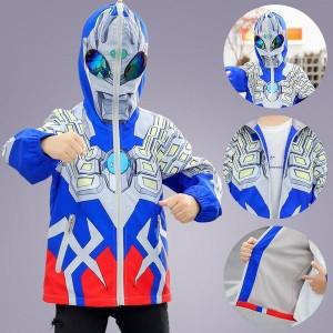パーカー ウルトラマン Ultraman Zero ゲーム キャラクター 子供服 フード付き キッズ ジュニア 長袖 セットアップ キッズ