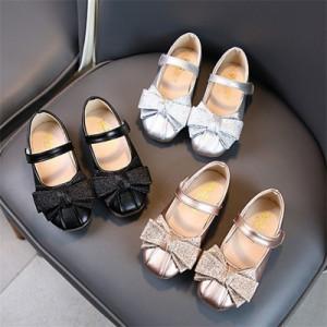 子供靴 キッズジュニアシューズ ちょう結び履きやすい 子どもフォーマルシューズ 発表会 子供ドレス フォーマル靴 結婚式 入学式 ヒール