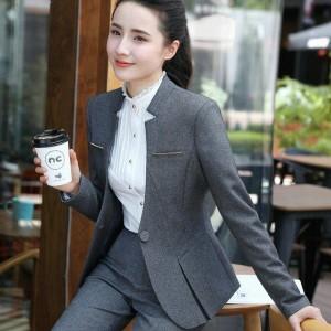 レディーススーツ上下スーツ スカート パンツ3点セット OL通勤 面接 ビジネス オフィス/フォーマル 七五三入学式/入社/卒業式 長袖