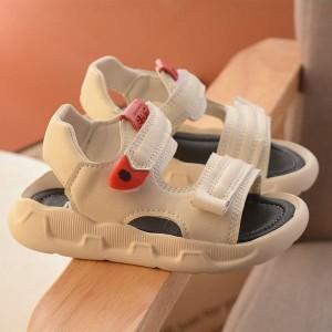 スポサン スポーツサンダル キッズ サンダル 夏 子供靴 男の子 ジュニア 靴 シューズ カジュアル ビーチ マジックテープ 軽量 歩きやすい