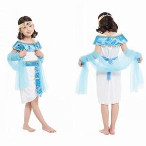 ハロウィン衣装 子供 クレオパトラ エジプト 王女様 仮装 お姫様 キッズ アラビア姫様コスチューム なりきり 衣装 ジュニア こども 帽子