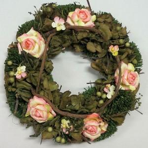 リース 3【ドライフラワー風?】【検索用 クリスマスリース クリスマス リース 自然 本物】