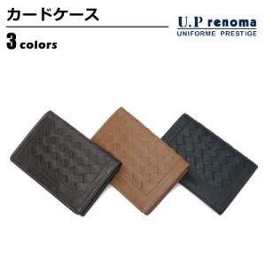 c15af0e3faa1 【ネコポスで送料無料】 財布 U.P renoma (ユーピーレノマ) カードケース・