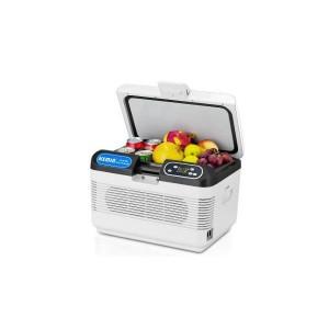 ミニ冷蔵庫 車用 12L 冷蔵 冷凍 車載冷蔵庫 12V ポータブル冷蔵庫 LEDディスプレイ アイスボックス クーラーボックス
