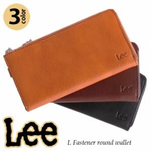 b32fbe9e4b42 【送料無料】 財布 長財布 Lee リー レザー 本革 牛革 メンズ レディース L
