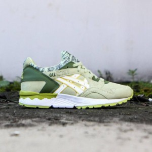 """Asics Tiger アシックスタイガー シューズ Asics Tiger Women Gel-Lyte V (green / winter pear / white) """