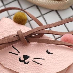 ショルダーバック ミニトートばッグ ミニかわいい猫の耳  漫画ラブリーメッセンジャーバッグ ディパック