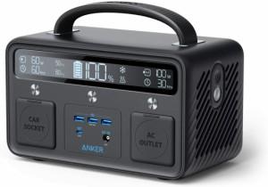Anker PowerHouse II 400 ポータブル電源 108,000mAh 389Wh純正弦波 AC300W PD対応 60W入出力 PowerIQ 3.0(Gen2) キャンプ アウトドア