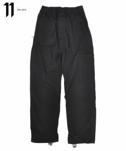 11 by BORIS BIDJAN SABERI ボリス ビジャン サベリ メンズ カーゴパンツ BLACK DYE EASY PANTS P22 F-1426 ブラック パンツ 送料無料