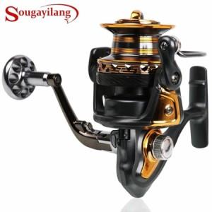 スピニングリール 4000 5000 6000 7000番  釣り道具 フィッシング 高速 14BB 高性能ベアリング 鯉釣り