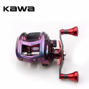 ベイトキャスティング リール ハンドル Kawa New 釣り マグネットic brake bearing 11+1 カーボン