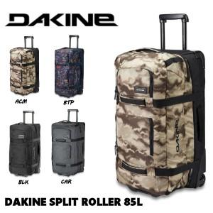 【DAKINE】 ダカイン 2019-2020 秋冬 DAKINE SPLIT ROLLER 85L キャリーバッグ スノーボード ブーツ収納可能  ウイール付き  4カラー