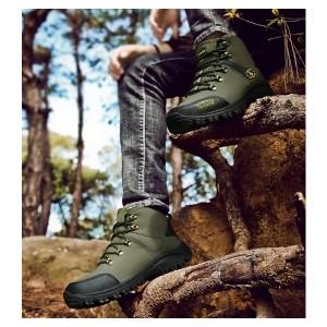 メンズブーツ 靴 シューズ スノーブーツ 防水 防寒 ハイキングブーツ ハイトップブーツ