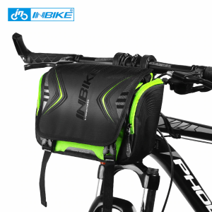 送料無料 新品 自転車用防水ポーチ サイクリング アウトドア バッグ カバン フロントバッグ ロードバイク 大容量 2WAY