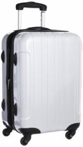 b09d024b75 [シフレ] siffler ESCAPE'S ジッパ-タイプ スーツケース B5853T-50 カーボンホワイト (