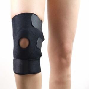 【送料無料】 膝用サポーター 3点ベルト マジックテープ式 男女兼用 左右兼用 フリーサイズ