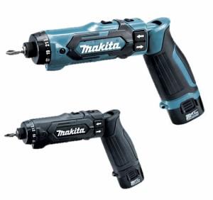 マキタ 充電式ペンドライバドリル DF012DSHX(青) DF012DSHXB(黒) バッテリ2個・充電器・ケース付 高精度で均一な締付け 7.2V対応 makita