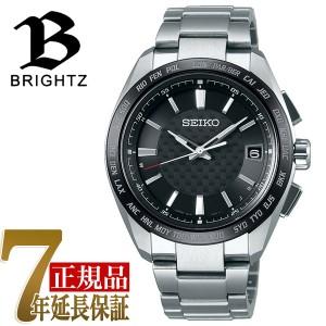 6f2220c5ab 【SEIKO BRIGHTZ】セイコー ブライツ ビジネスアスリート ソーラー 電波 メンズ 腕時計 SAGZ091