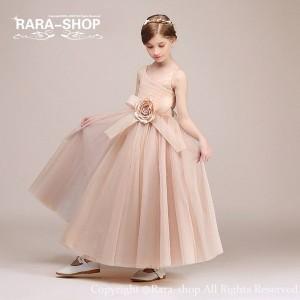 613499379ce 子どもドレス お呼ばれ 結婚式 大きな花キッズドレス ジュニアコンクール[子供服 女の子 フォーマル
