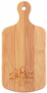 ディズニー 竹製把手付カッティングボード くまのプーさん MA-1639 (1枚入) [まな板]