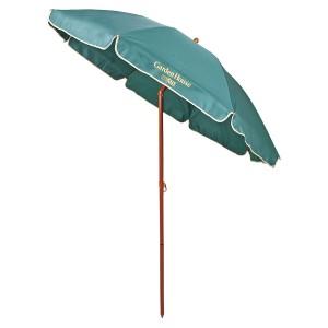 CAPTAIN STAG(キャプテンスタッグ) アウトドア ガーデンハウス UVカットパラソル200cm(グリーン) MG0343