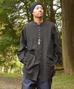 チャイハネ 公式 [タビエメンズシャツ] エスニック アジアン  ファッション トップス/メンズ IDS-1108