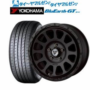 新品・送料無料・4本セット FORCE デルタフォース OVAL(オーバル) マットブラック 16インチ 7.0J ヨコハマ BluEarth ブルーアース GT (AE
